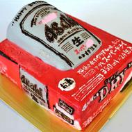 No.054・オーダーケーキ(5号)(立体4D)(ベース有)(四角型)