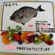 No.167・オーダーケーキ(6号)(平面)(四角型)